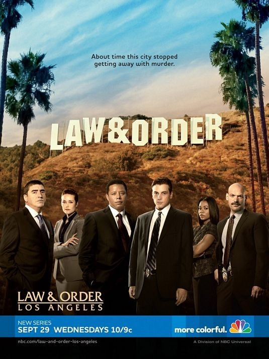 La locandina di Law & Order: Los Angeles