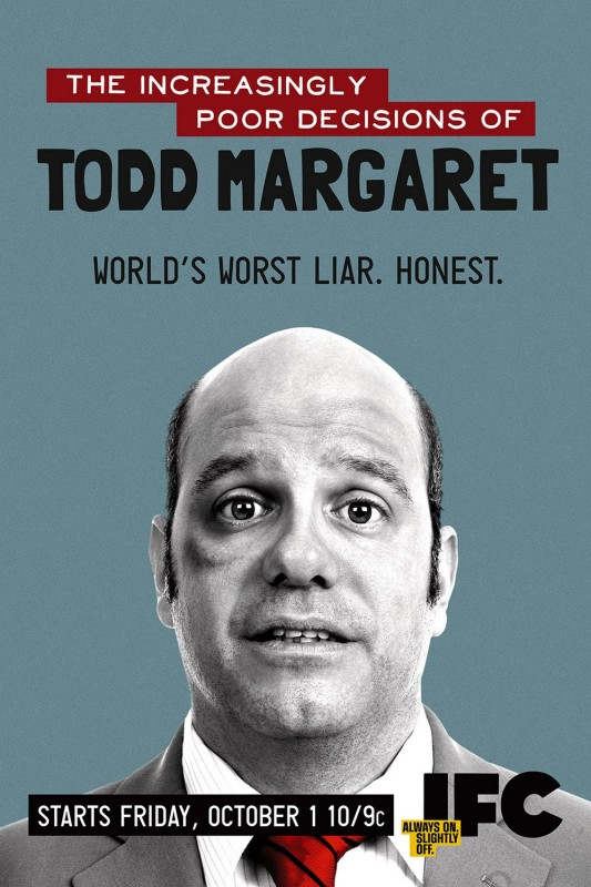 La locandina di The Increasingly Poor Decisions of Todd Margaret