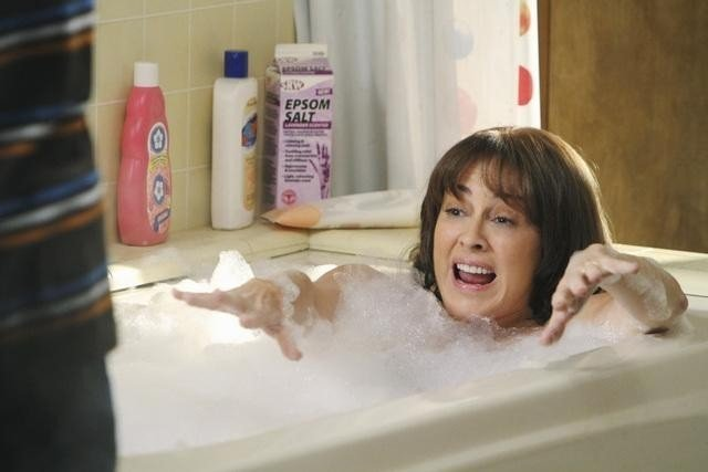 Patricia Heaton nell'episodio The Diaper Incident di The Middle