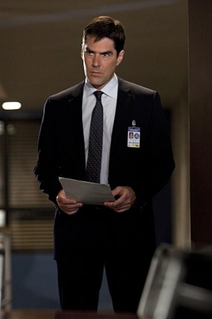 Thomas Gibson nell'episodio JJ di Criminal Minds