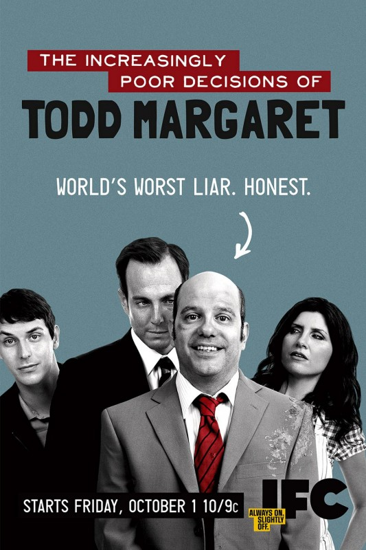 Un poster della serie The Increasingly Poor Decisions of Todd Margaret
