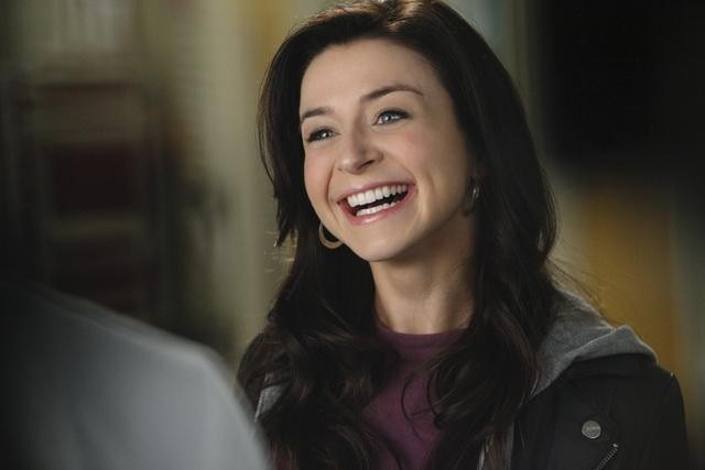 Caterina Scorsone nell'episodio Superfreak di Grey's Anatomy