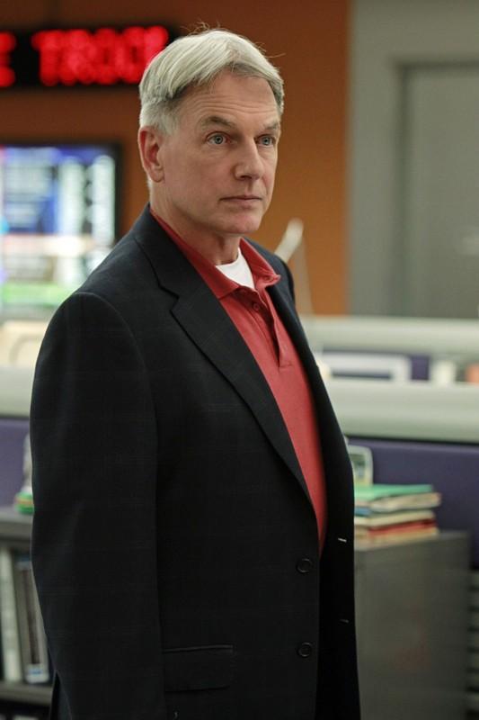 Gibbs (Mark Harmon) in una scena dell'episodio Worst Nightmare di N.C.I.S.