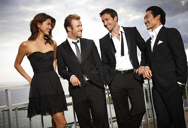 I protagonisti di Hawaii Five-0 in una immagine promozionale della serie