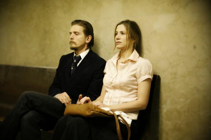 Mira Sorvino e Barry Pepper in un'immagine del film Like Dandelion Dust