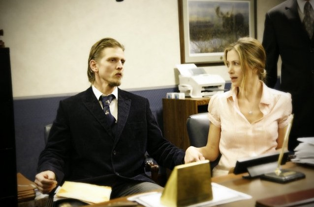 Mira Sorvino e Barry Pepper, protagonisti del film Like Dandelion Dust