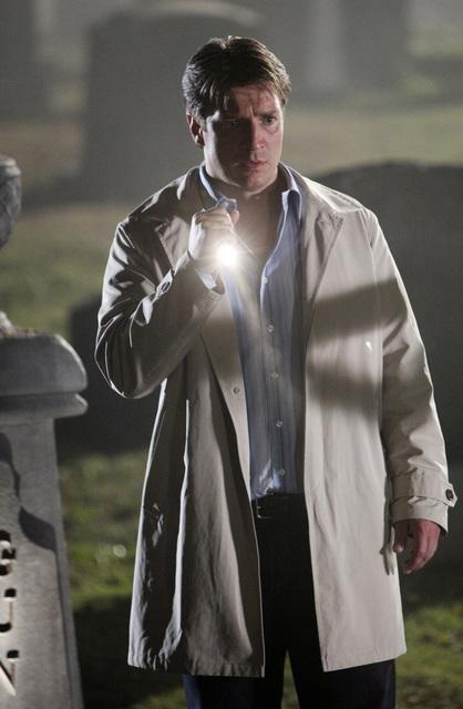 Nathan Fillion nell'episodio Under The Gun di Castle