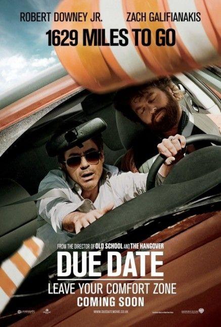 Nuovo divertente poster per il film Due Date - 1629 Miles to Go