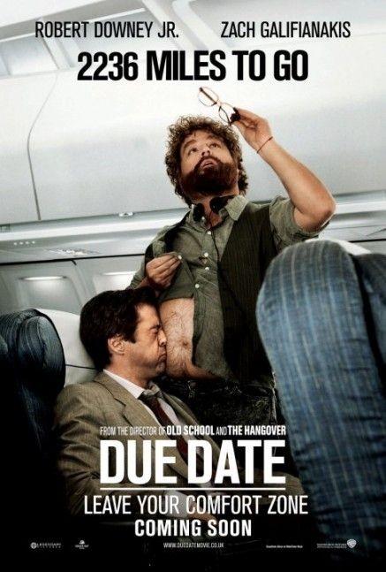 Nuovo divertente poster per il film Due Date - 2236 Miles to Go