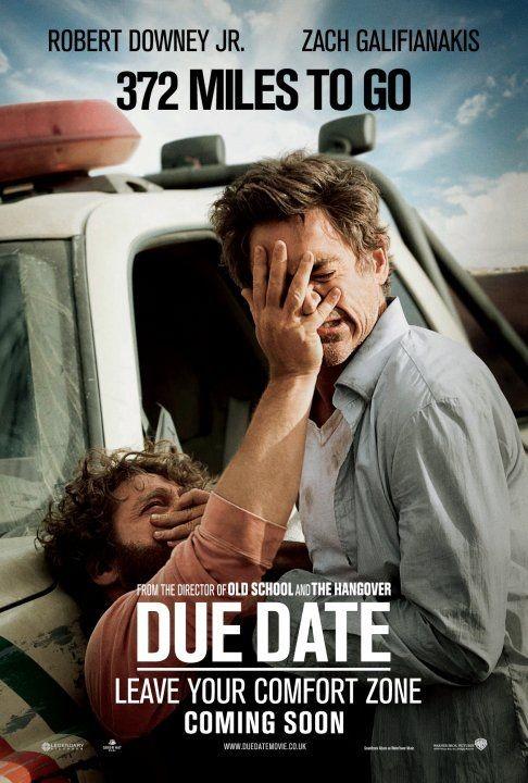 Nuovo divertente poster per il film Due Date - 372 Miles to Go