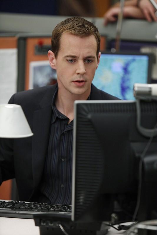 Sean Murray al computer nell'episodio Worst Nightmare di N.C.I.S.