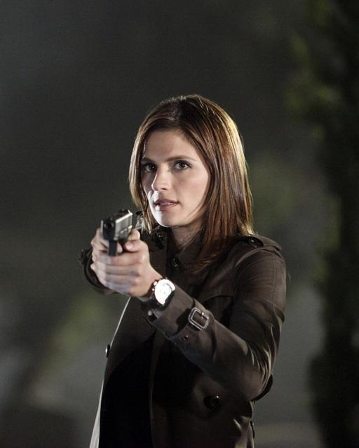 Stana Katic nell'episodio Under The Gun di Castle