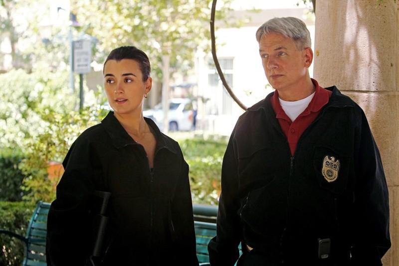 Ziva David (Cote de Pablo) e Gibbs (Mark Harmon) nell'episodio Worst Nightmare di N.C.I.S.