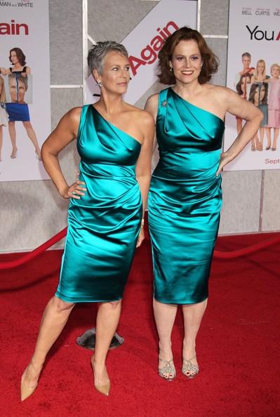 Due affascinanti sirene sul red carpet di You Again: Sigourney Weaver e Jamie Lee Curtis