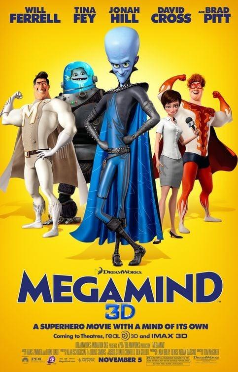 Final Poster USA per Megamind