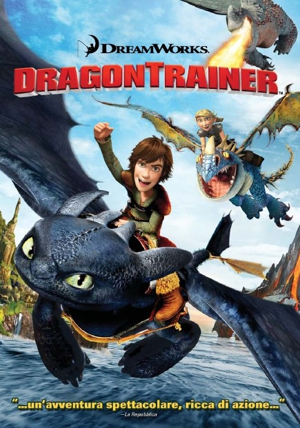 La copertina di Dragon Trainer (dvd)