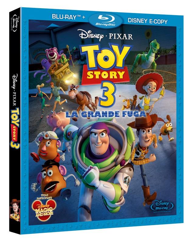 La copertina di Toy Story 3 - La grande fuga (blu-ray)