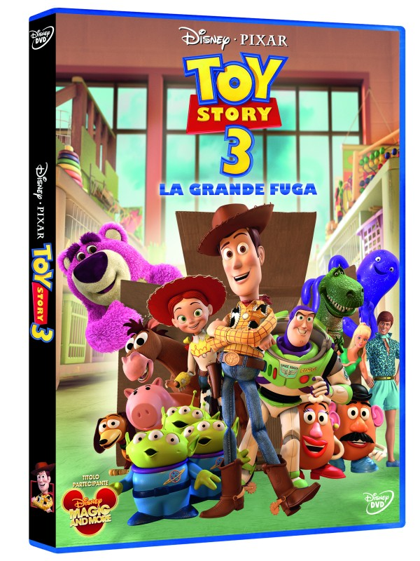 La copertina di Toy Story 3 - La grande fuga (dvd)