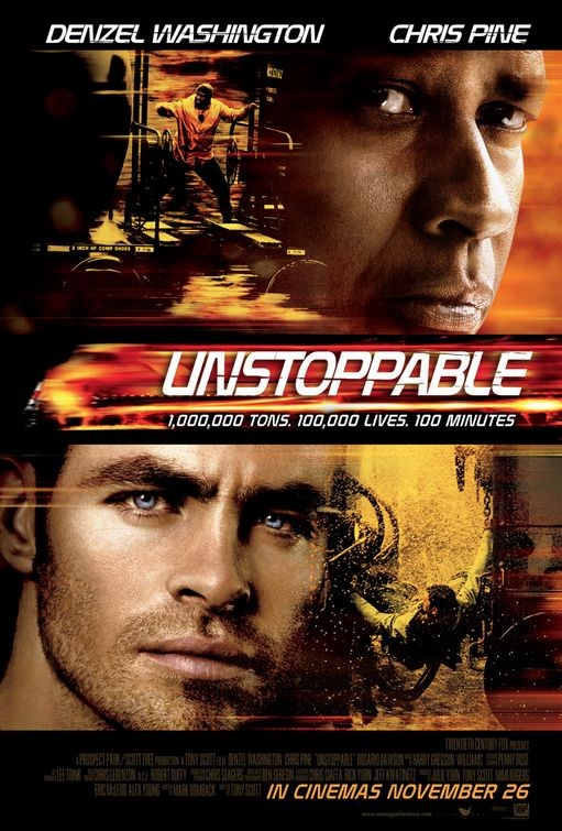 Nuovo poster per Unstoppable