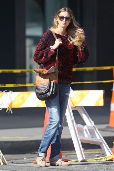Whitney Port passeggia per New York City