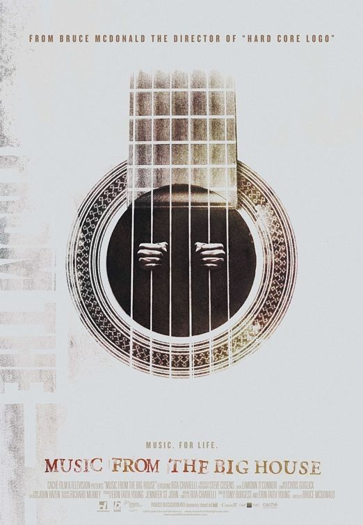 Nuovo poster per il documentario Music from the Big House