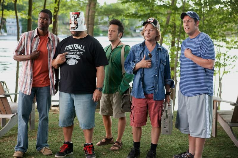 Chris Rock, Kevin James, Rob Schneider, David Spade e Adam Sandler in Un weekend da bamboccioni