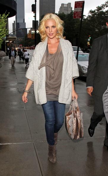 Katherine Heigl ritorna nel suo hotel di NYC