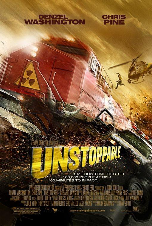Nuovo poster internazionale per Unstoppable