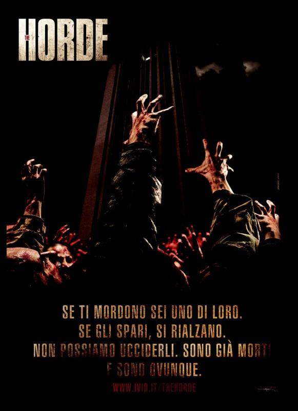 Poster promozionale italiano di La Horde