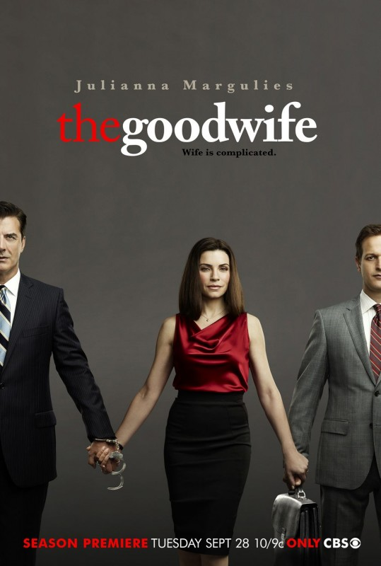 Un poster della stagione 2 di The Good Wife