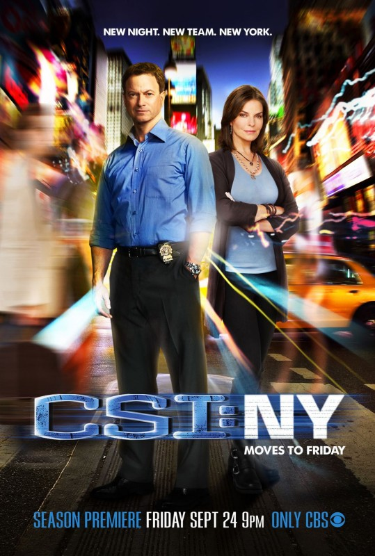 Un poster per la stagione 7 di CSI: New York
