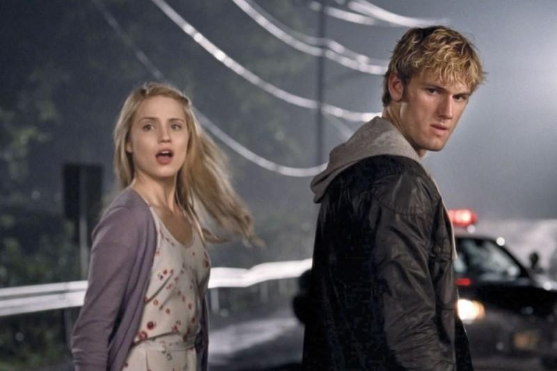 Alex Pettyfer e Dianna Agron in una scena del film Sono il numero quattro
