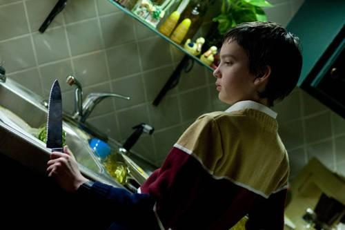 Kodi Smit-McPhee, piccolo protagonista dell'horror Let Me In