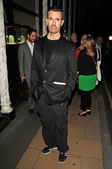 Rupert Everett alla festa di Tara Palmer- Tomkinson presso Asprey di Londra