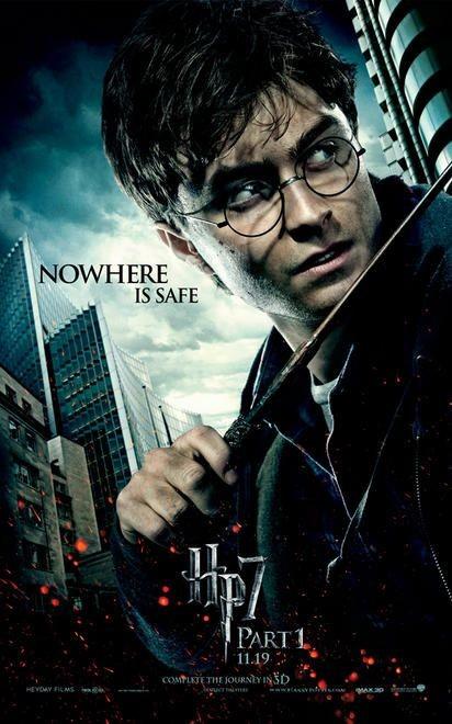 Character Poster (Harry) per il film Harry Potter e i doni della morte - Parte 1
