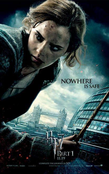 Character Poster (Hermione) per il film Harry Potter e i doni della morte - Parte 1