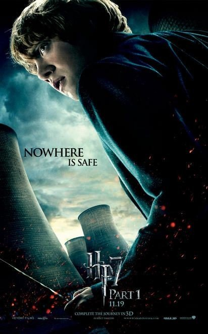 Character Poster (Ron) per il film Harry Potter e i doni della morte - Parte 1
