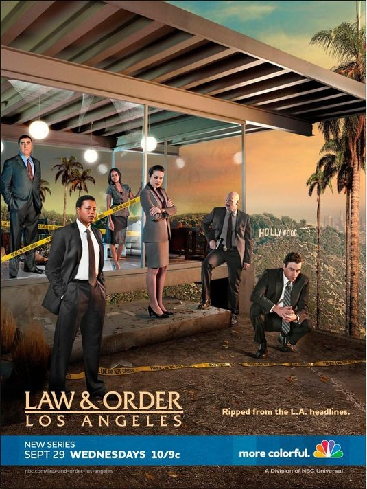 Un poster di Law & Order: Los Angeles