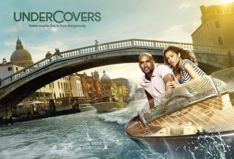 Uno dei poster della nuova serie di J.J. Abrams Undercovers