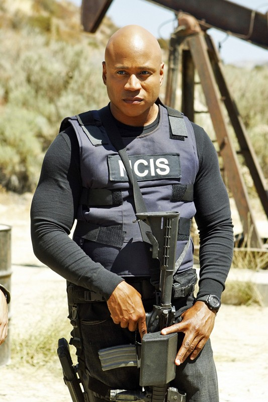LL Cool J in una scena dell'episodio Borderline di NCIS: Los Angeles
