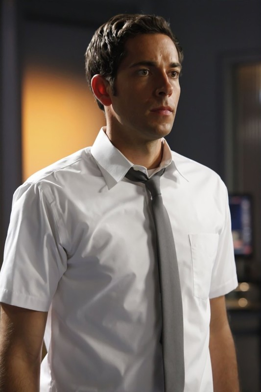 Chuck Bartowski (Zachary Levi) nell'episodio Chuck Versus the Cubic Z
