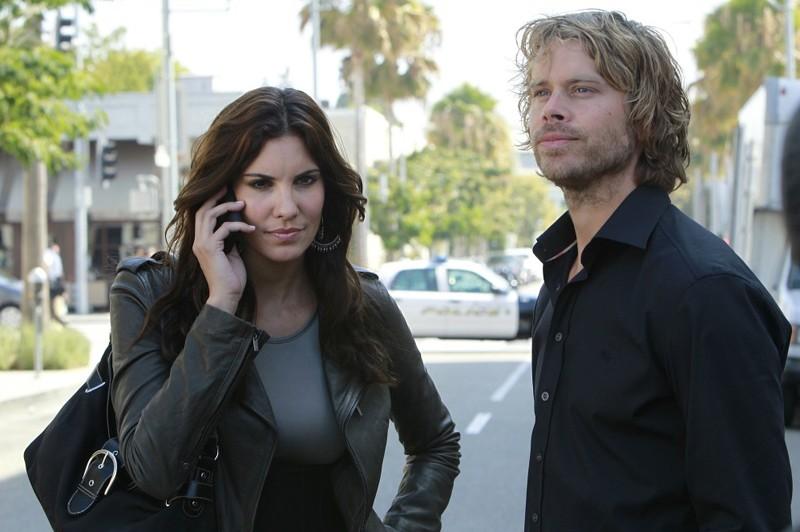 Kensi (Daniela Ruah) e Jason (Eric Christian Olsen) nell'episodio Special Delivery di NCIS: Los Angeles