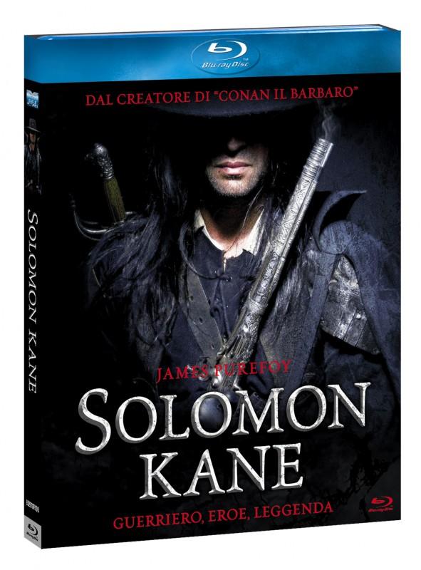 La copertina di Solomon Kane (blu-ray)
