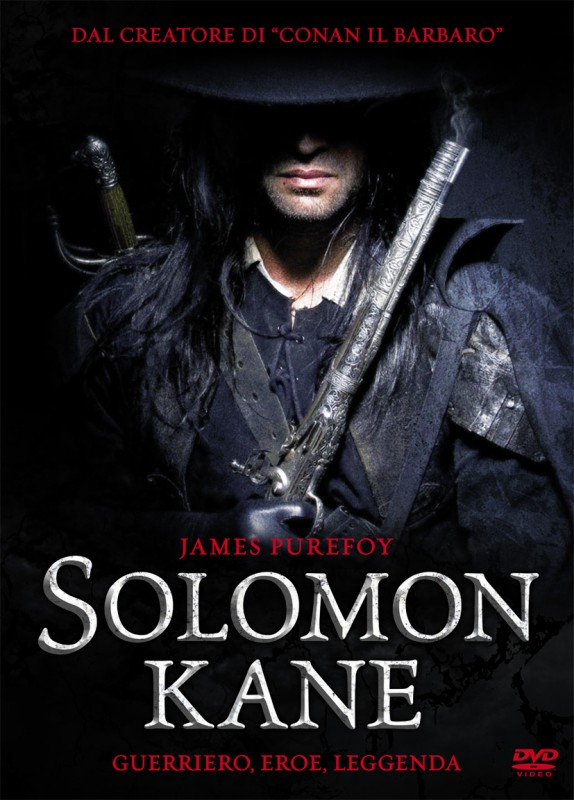 La copertina di Solomon Kane (dvd)