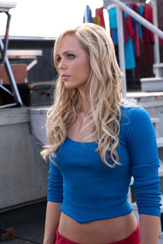 Laura Vandervoort in un momento dell'episodio a lei dedicato di Smallville
