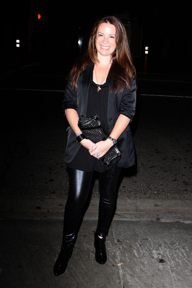 Holly Marie Combs frequenta l'STK steakhouse di West Hollywood
