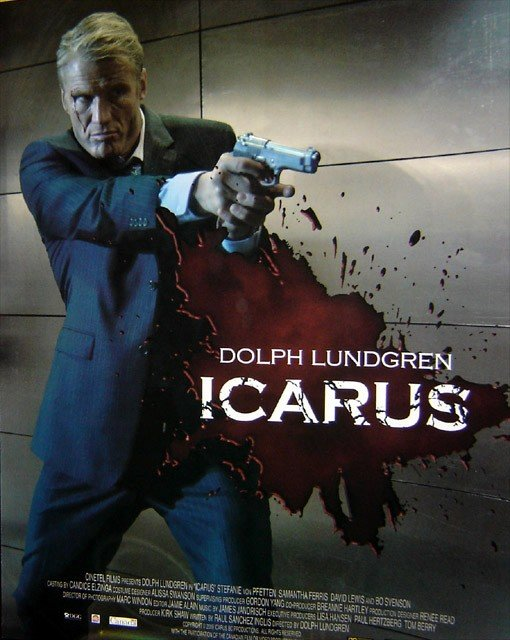 La locandina di Icarus