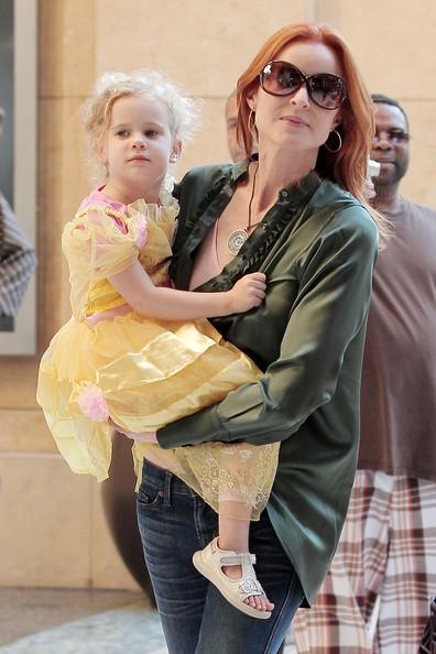 Marcia Cross con le figlie partecipa ad un evento a Hollywood