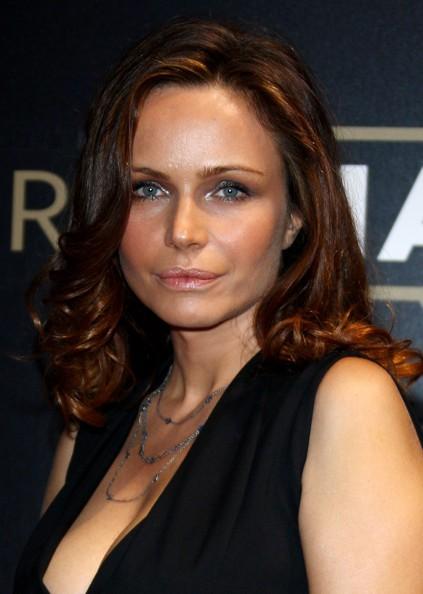 Francesca Neri ad un evento Martini nel 2009