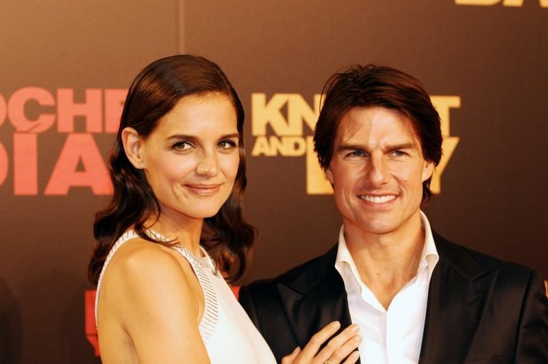 Katie Holmes accompagna il marito Tom Cruise alla presentazione di Innocenti bugie in America